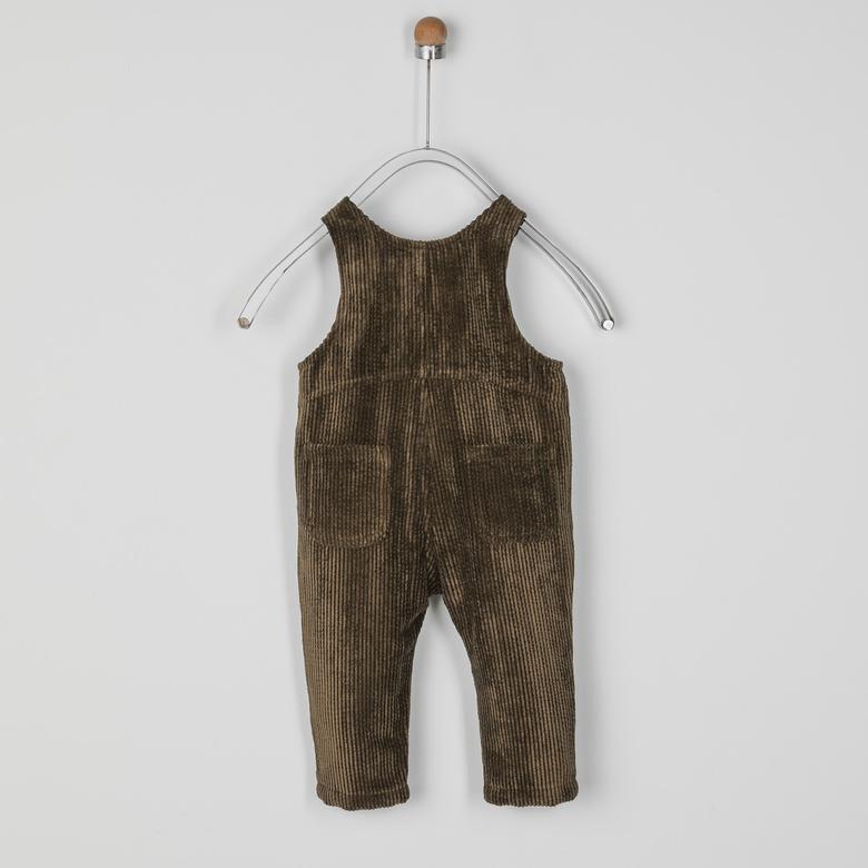 Erkek Bebek Kadife Salopet 2021BB24009