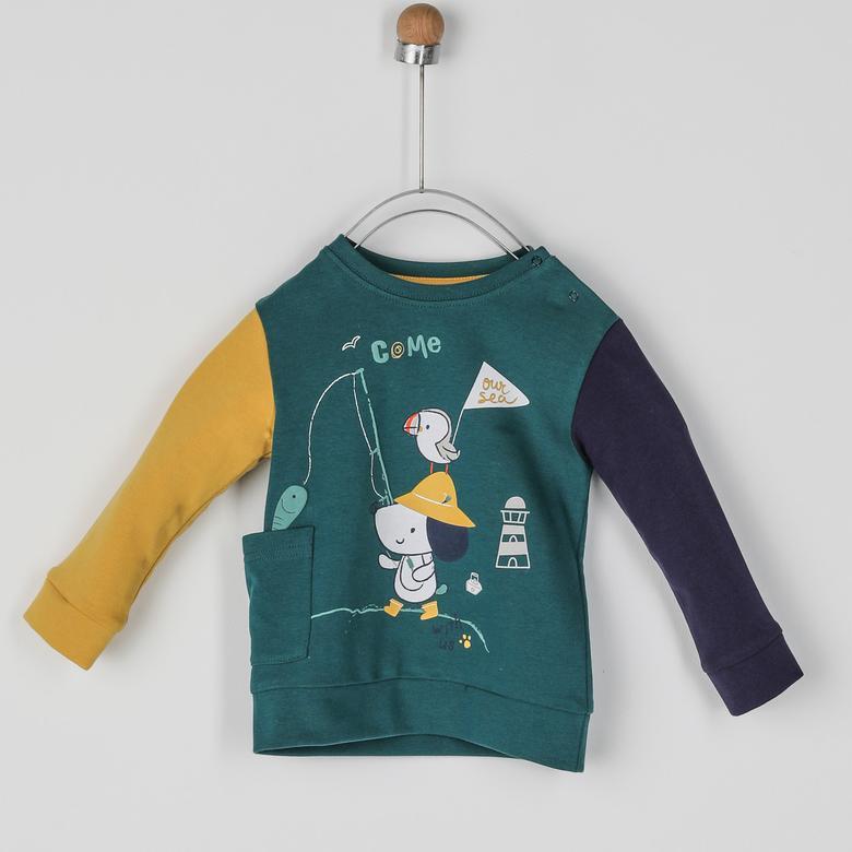 Erkek Bebek Sweatshirt 2021BB08010