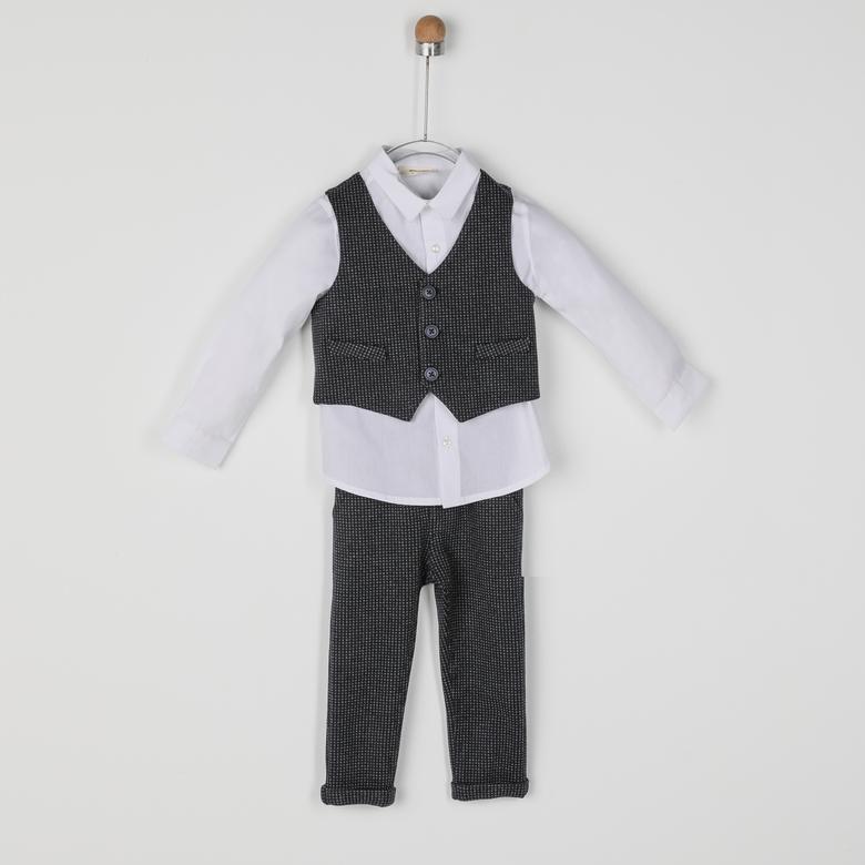 Erkek Bebek 3'lü Takım 2021BB17008