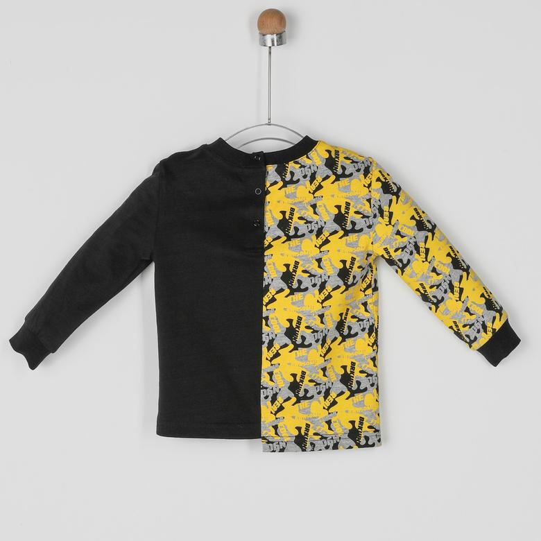 Erkek Bebek Uzun Kollu T-shirt 2021BB05016