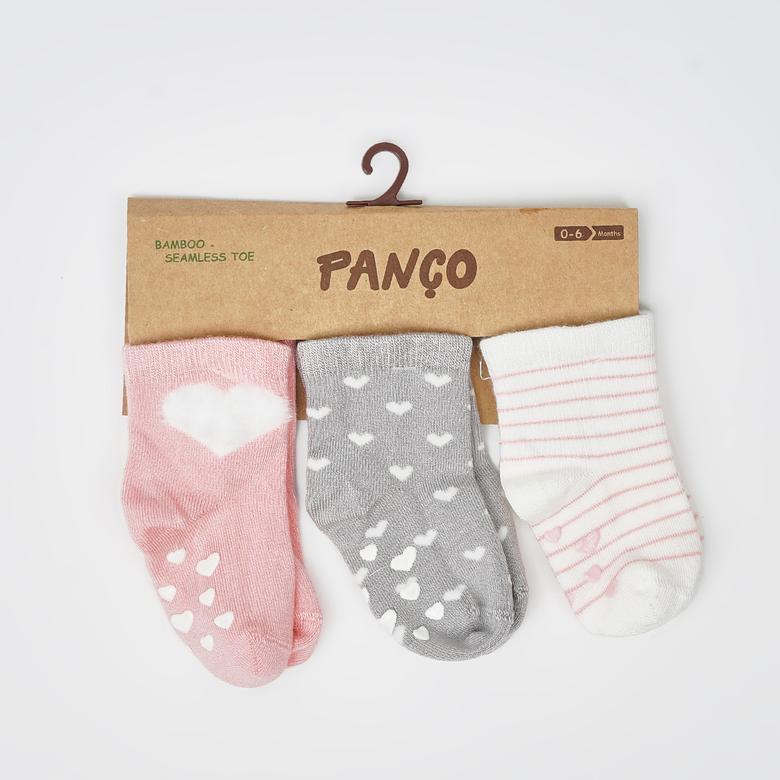 0-3 Yaş Kız 3 lü Çorap 2012GB11017