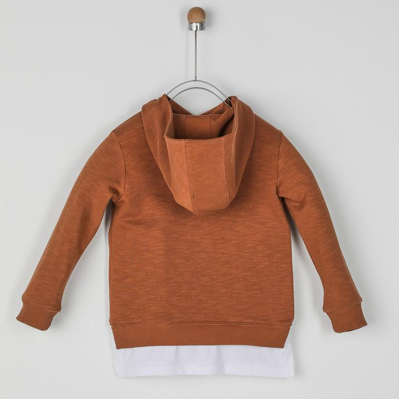 Erkek Çocuk Kapşonlu Sweatshirt 2021BK08005