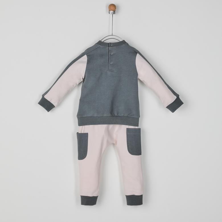 Erkek Bebek 2'li Eşofman Takım 2021BB17009