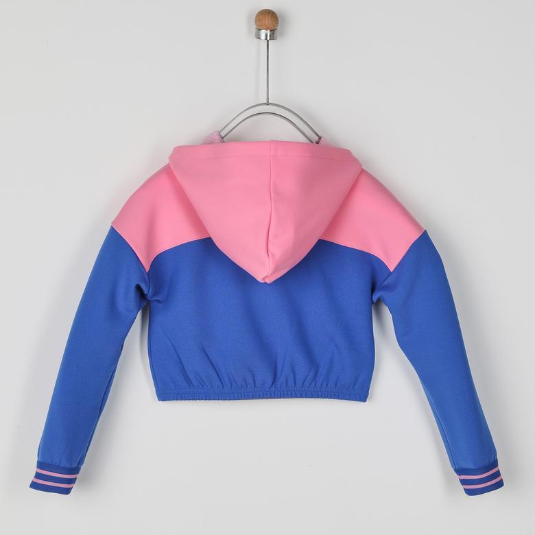 Kız Çocuk Kapşonlu Sweatshirt 2021GK08032