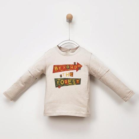 Uzun Kollu T-shirt 2021BB05024