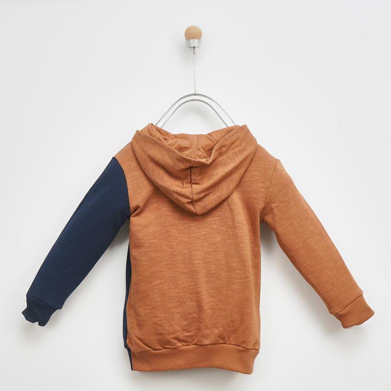 Erkek Çocuk Kapşonlu Sweatshirt 2021BK08004