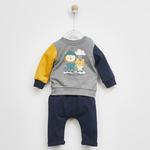 Erkek Bebek 2'li Eşofman Takım 2021BB17006