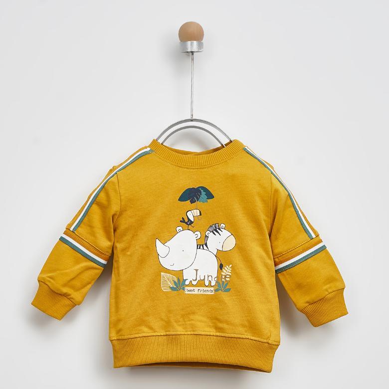 Erkek Bebek Sweatshirt 2021BB08008
