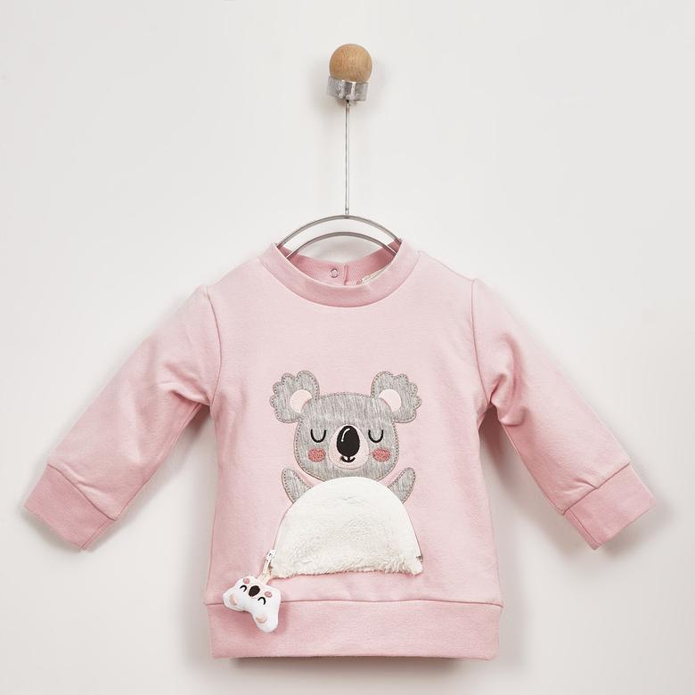 Kız Bebek Sweatshirt 2021GB08017