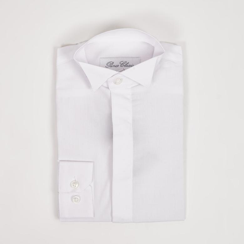 Erkek Çocuk Ata Yaka Gömlek 1711200171