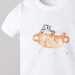 Erkek Bebek Kısa Kollu T-shirt 2011BB05039