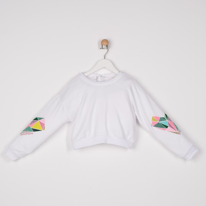 Kız Çocuk Sweatshirt 2111GK08011