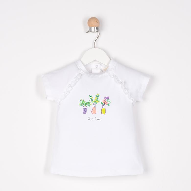 Kız Bebek T-Shirt 2111GB05005