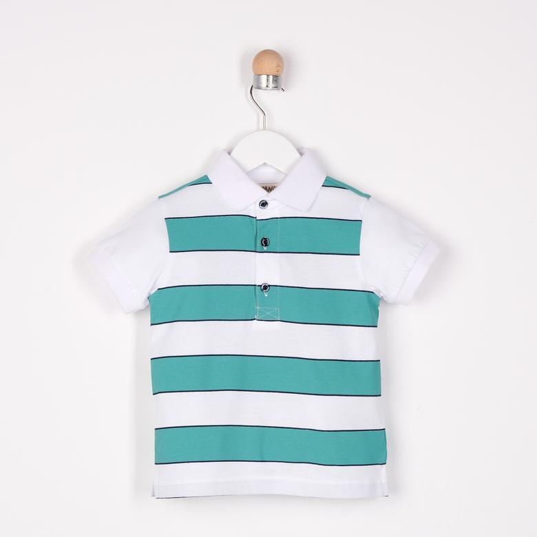 Erkek Bebek Yakalı T-Shirt 2111BB05028