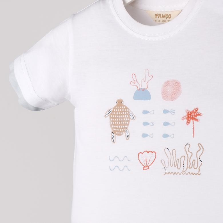 Erkek Bebek T-Shirt 2111BB05030