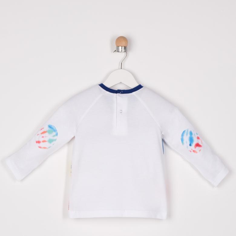 Erkek Bebek Uzun Kollu T-shirt 2111BB05041