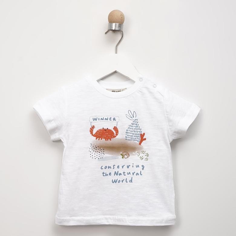 Erkek Bebek T-Shirt 2111BB05012
