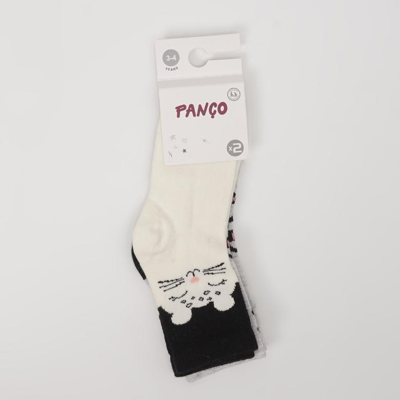 Kız Çocuk 2 li Çorap 2022GK11003