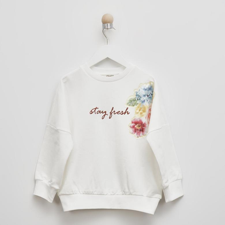 Kız Çocuk Sweatshirt 2111GK08010