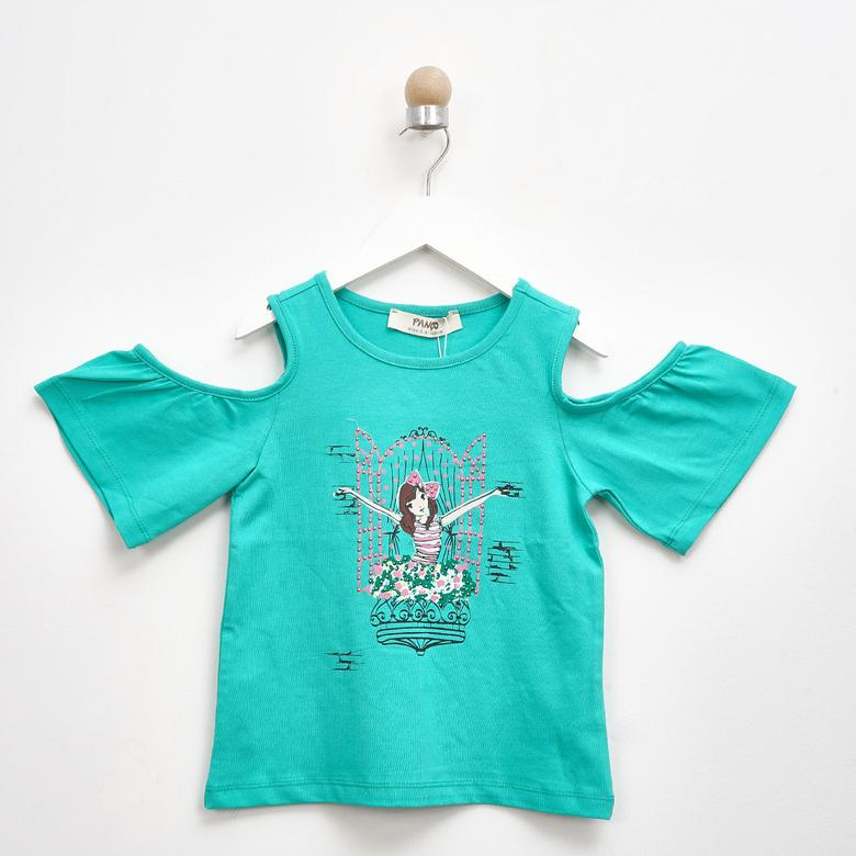 Kız Çocuk T-Shirt 2111GK05036