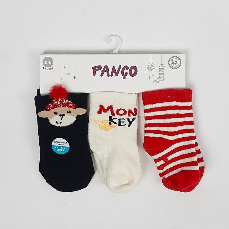 Erkek Bebek 3 lü Çorap 2022BB11001