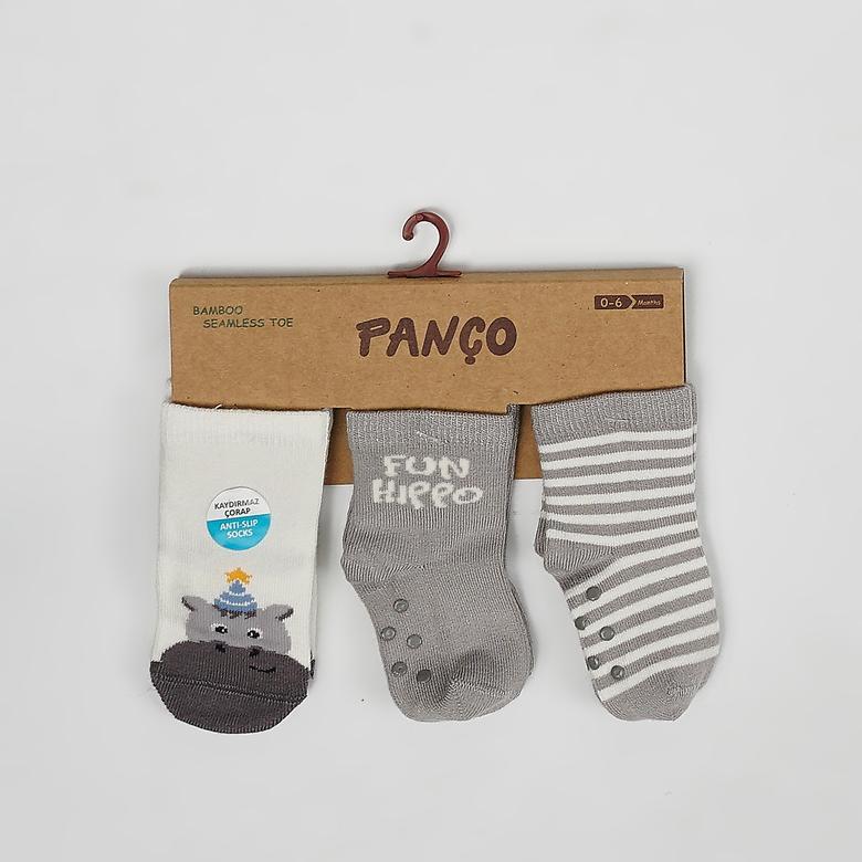 Erkek Bebek 3 lü Çorap 2022BB11007