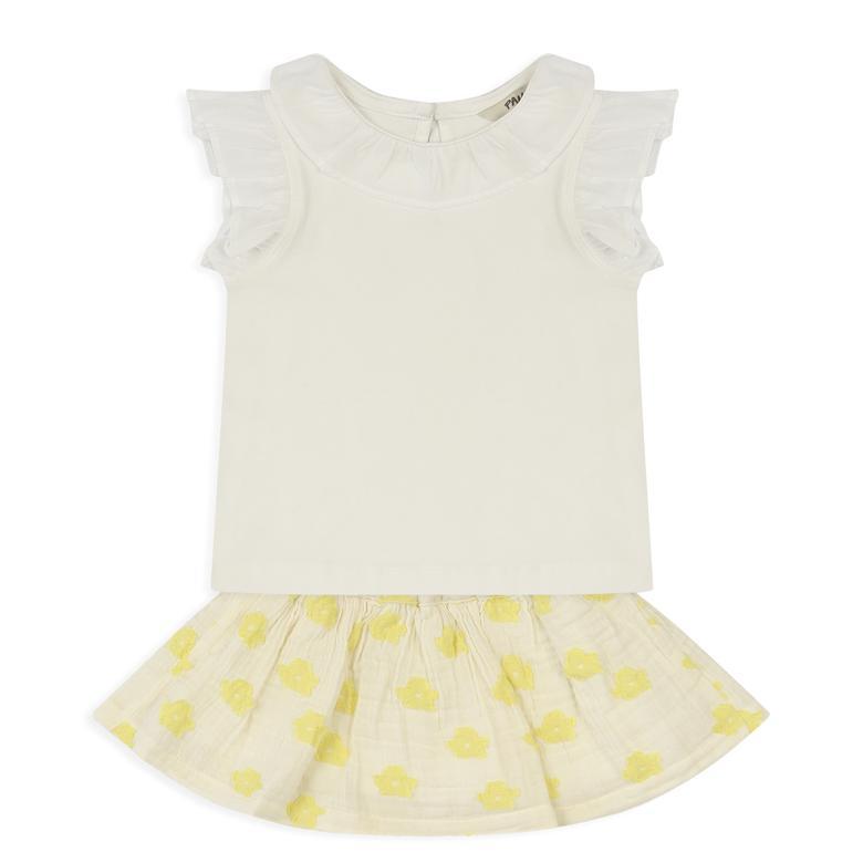 Kız Bebek Etekli Takım 2111GB17009