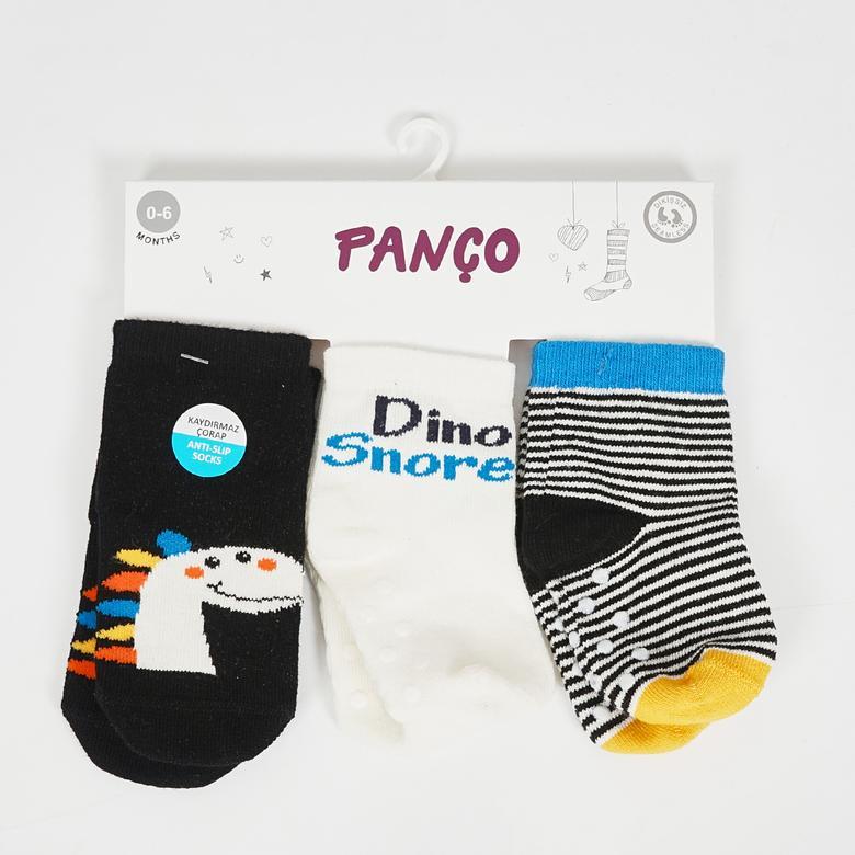 Erkek Bebek 3 lü Çorap 2022BB11002