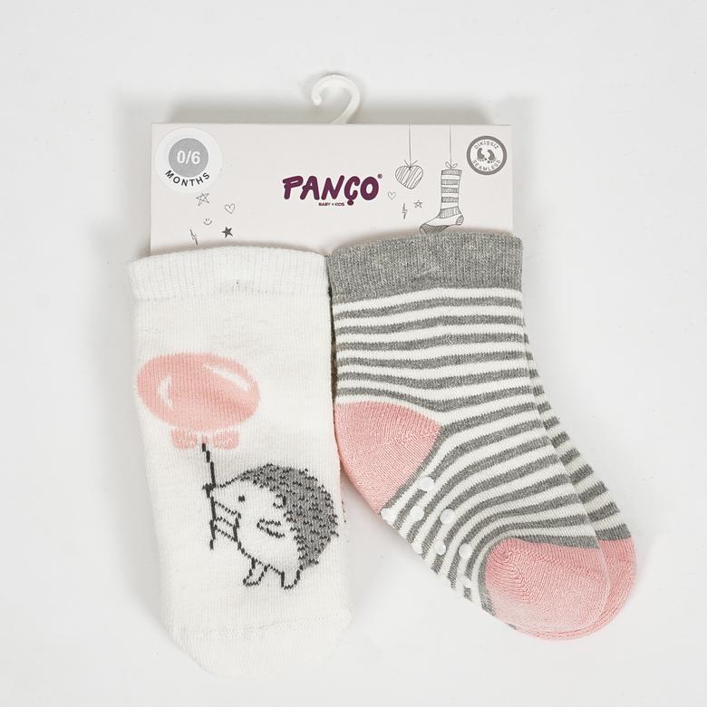 Kız Bebek 2 li Çorap 2022GB11005