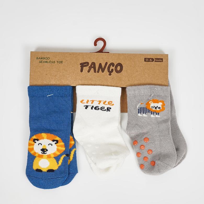 Erkek Bebek 3 lü Çorap 2022BB11008