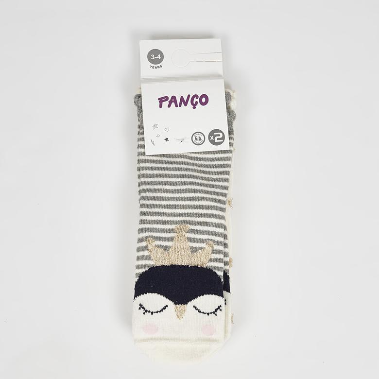 Kız Çocuk 2 li Çorap 2022GK11004