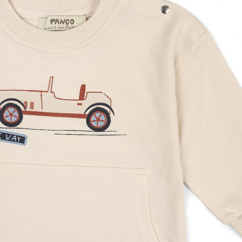 Erkek Bebek Sweatshirt 2111BB08005