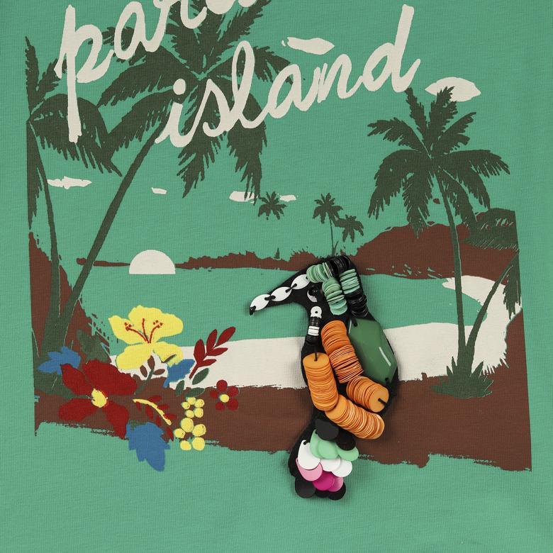 Kız Çocuk T-Shirt 2111GK05030