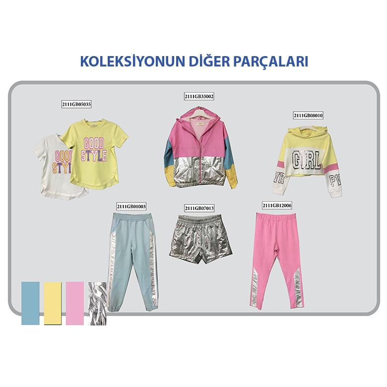 Kız Çocuk T-Shirt 2111GK05002