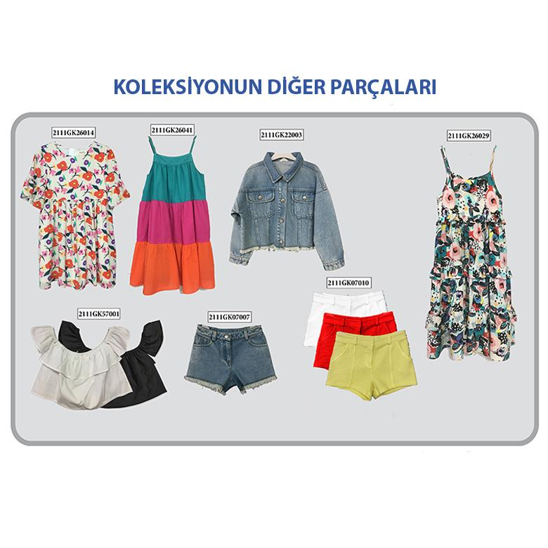 Kız Çocuk Elbise 2111GK26014