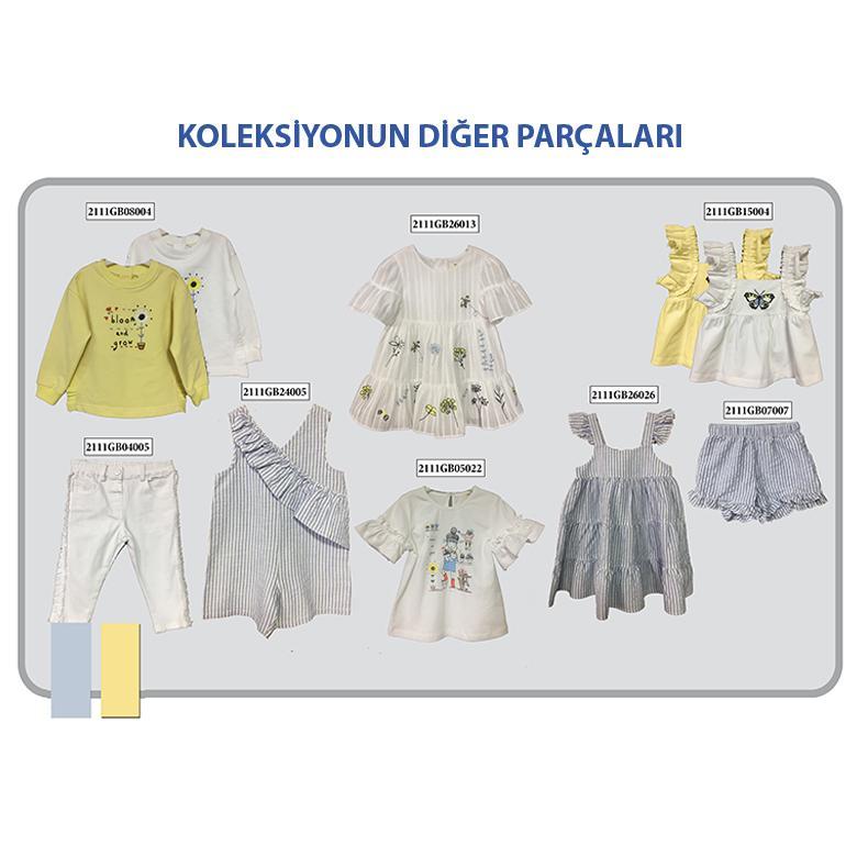 Kız Bebek Sweatshirt 2111GB08004