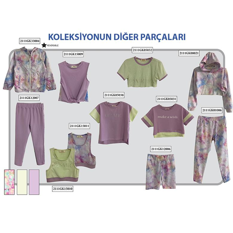 Kız Çocuk T-Shirt 2111GK05032