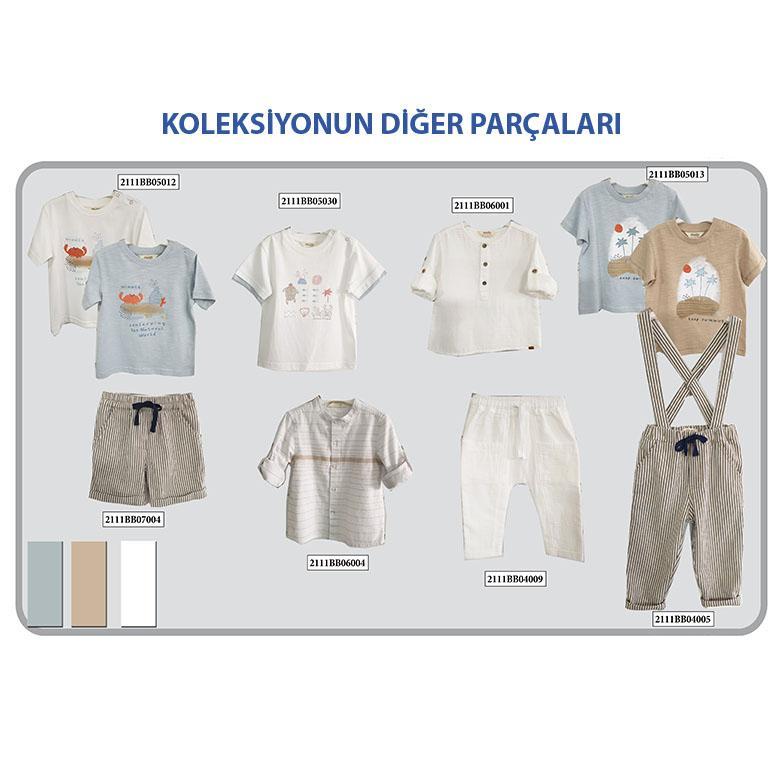 Erkek Bebek Şort 2111BB07004