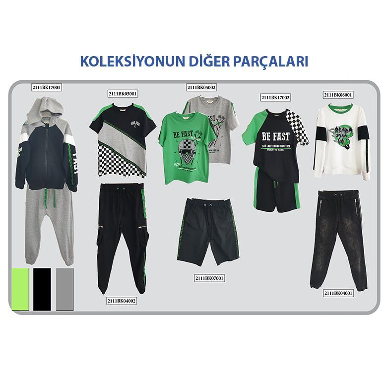 Erkek Çocuk 2'li Eşofman Takım 2111BK17001