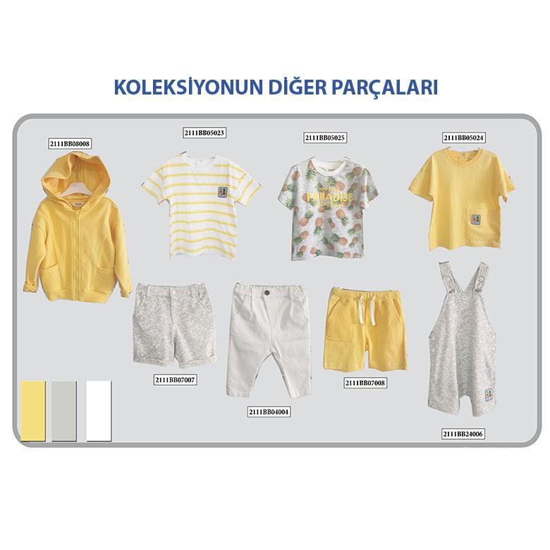 Erkek Bebek T-Shirt 2111BB05023