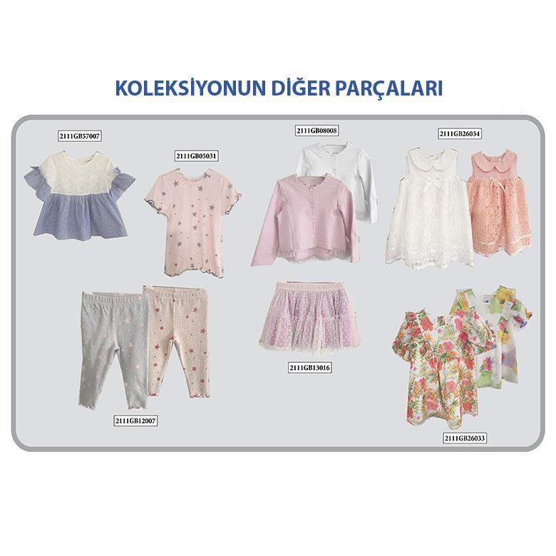 Kız Bebek T-Shirt 2111GB05031
