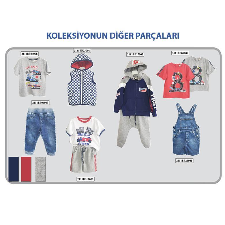 Erkek Bebek T-Shirt 2111BB05009