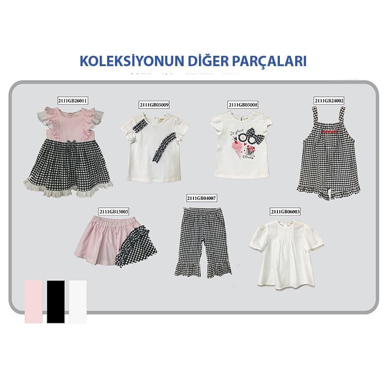 Kız Bebek T-Shirt 2111GB05008