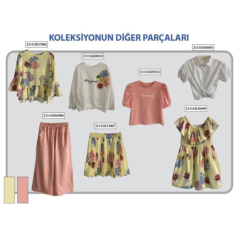 Kız Çocuk Gömlek 2111GK06001