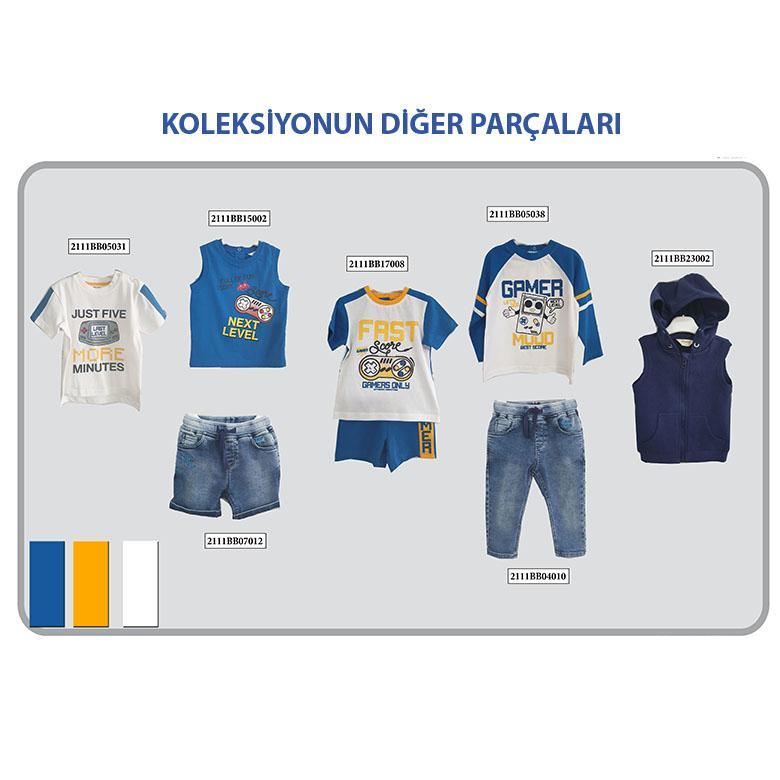 Erkek Bebek Uzun Kollu T-shirt 2111BB05038