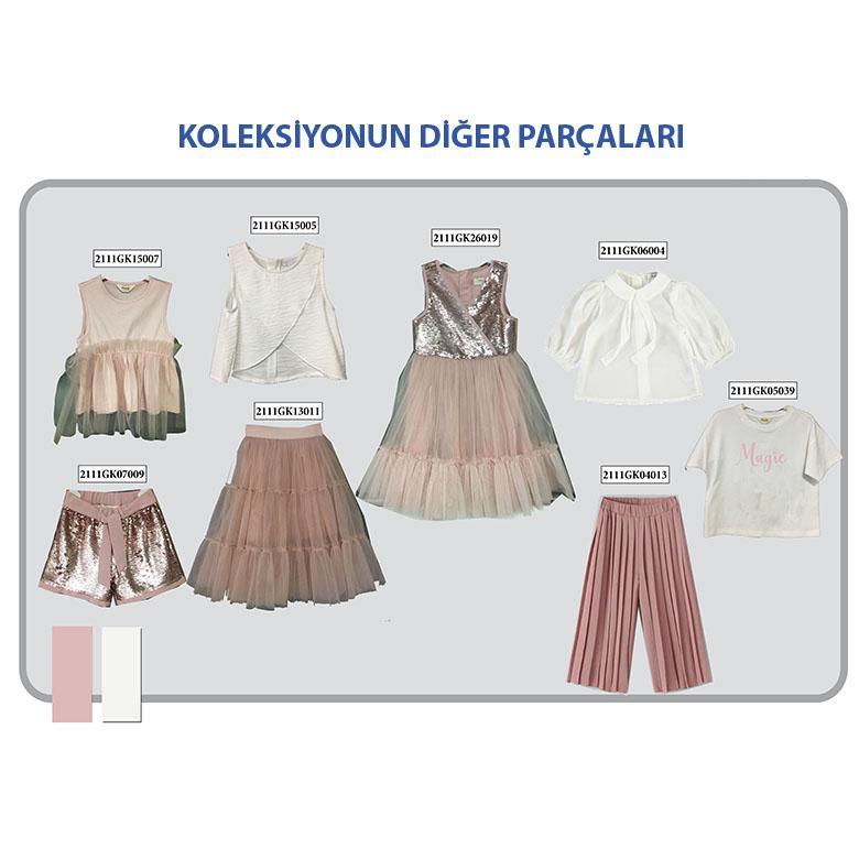 Kız Çocuk Gömlek 2111GK06004