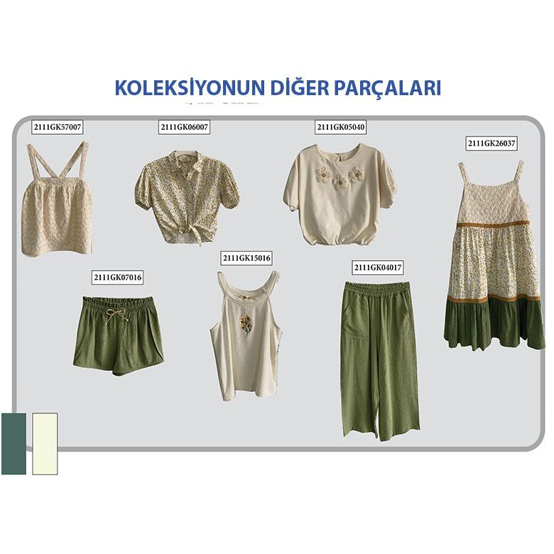 Kız Çocuk Gömlek 2111GK06007