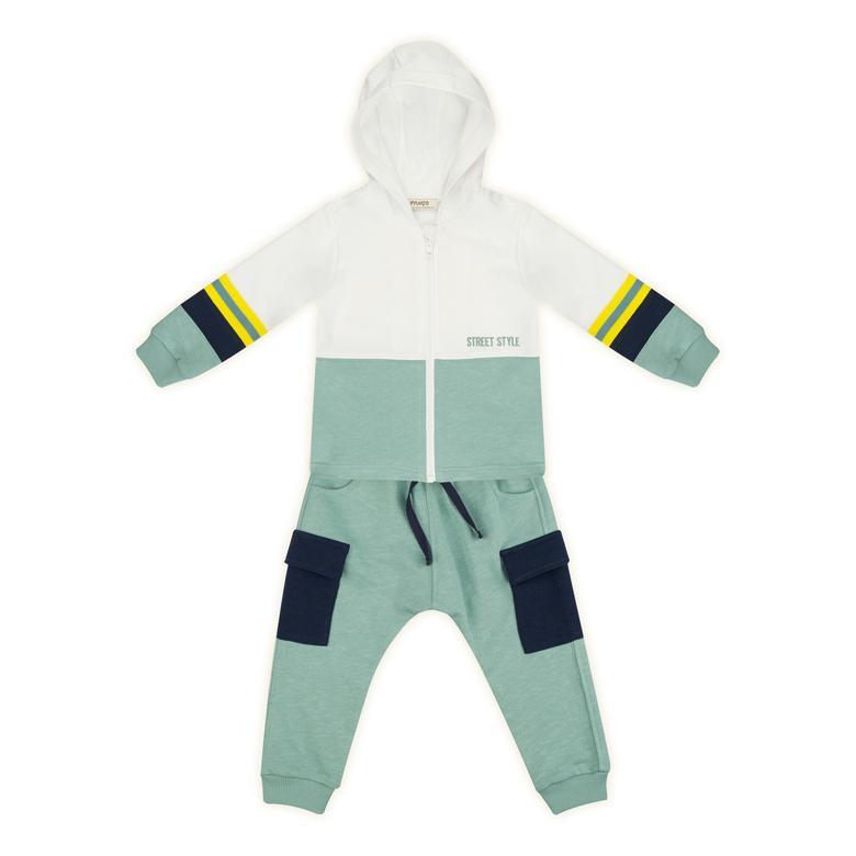 Erkek Bebek 2'li Eşofman Takım 2121BB17001
