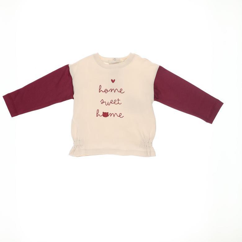 Kız Bebek Uzun Kollu T-shirt 2121GB05003