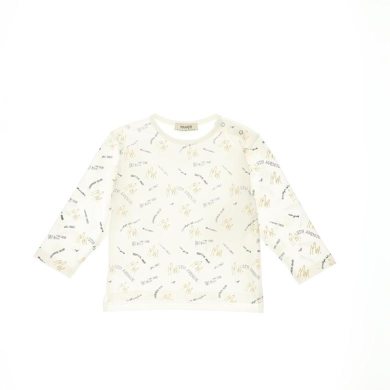 Erkek Bebek Uzun Kollu T-shirt 2121BB05031